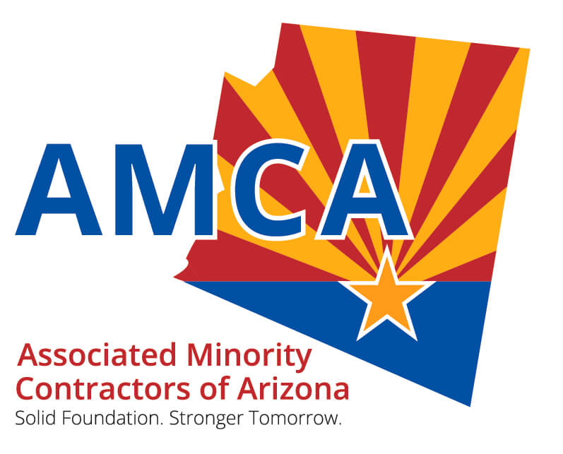 Associated Minority Contractors of Arizona Logo